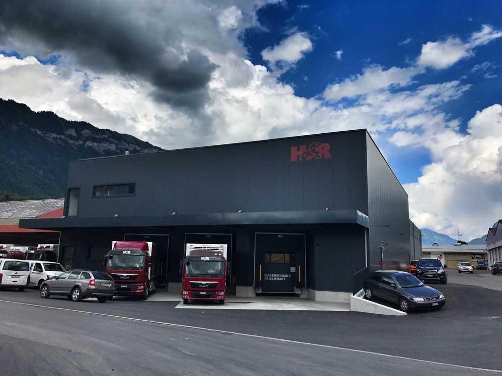 Projekt: Neues Frischelager erfolgreich in Betrieb
